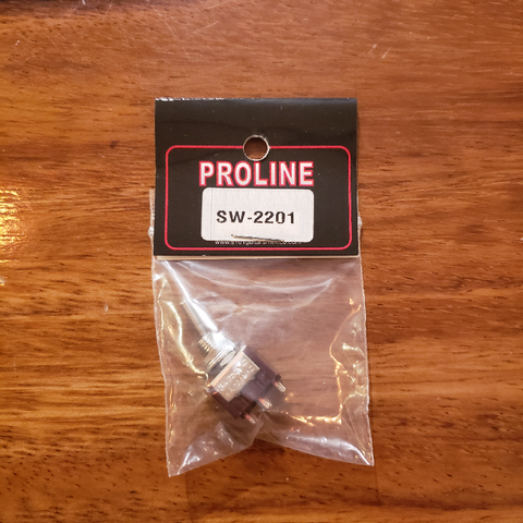 Proline Mini Switch Cola de Rata (2 Pasos) On-On (6 pines)