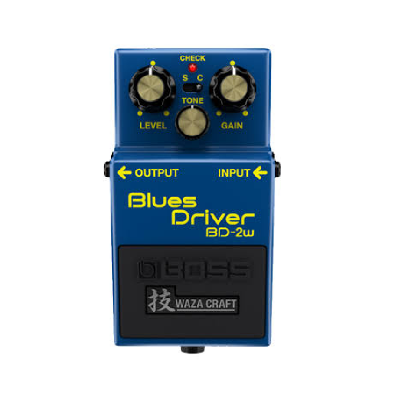 Boss Blues Driver Waza Craft BD-2w