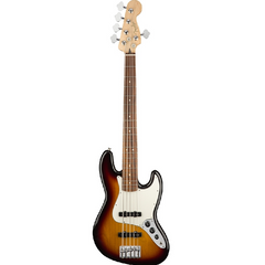 Player Jazz Bass® V, Pau Ferro Fingerboard, 3-Color Sunburst