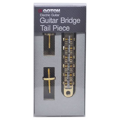 Gotoh ABR-1 Style Tune-o-matic Bridge GE104B Post Mount (Gold)