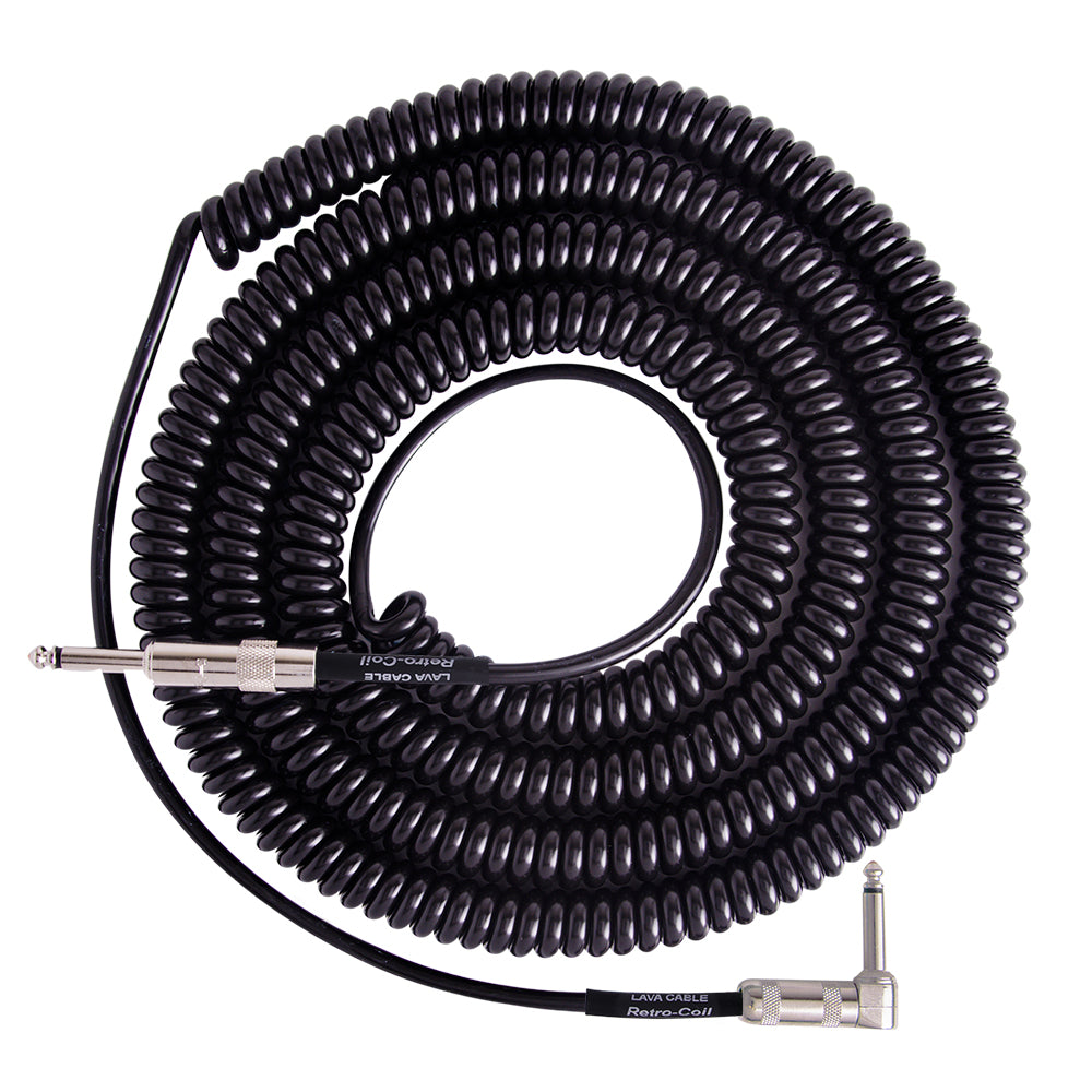 Lava Retro Coil RA 20ft Black