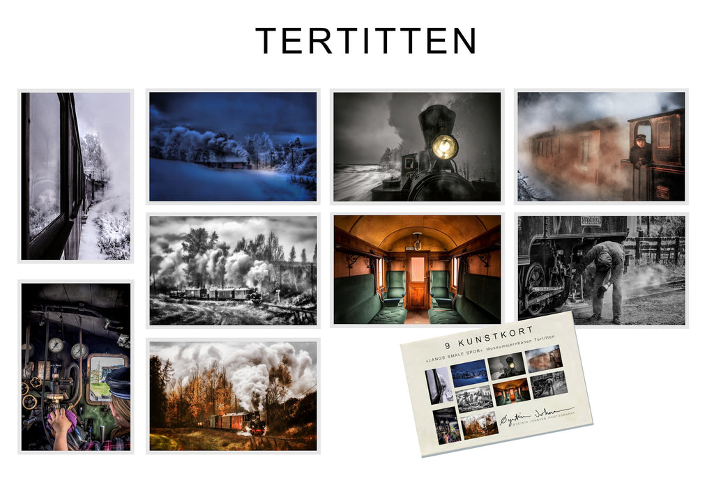 Art Cards: Tertitten Train