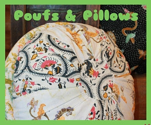 Pillows & Poufs