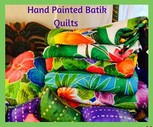 Hand Painted Batik Quilts