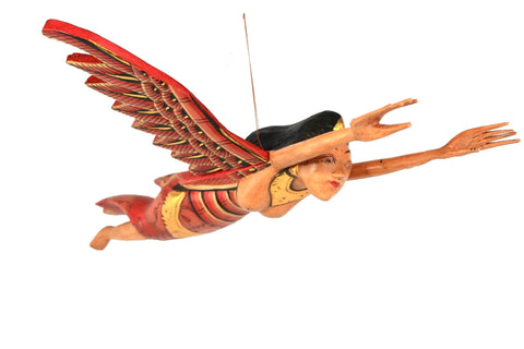 Flying Winged Dewi Sri Rice Goddess Mobile Spiritchaser - Acadia World Traders