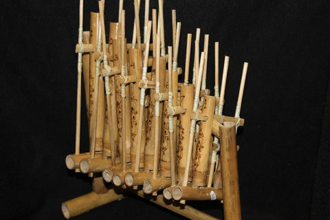 BAMBOO ANGKLUNG Rindik Gamelan Indonesian Musical Instrument - Acadia World Traders