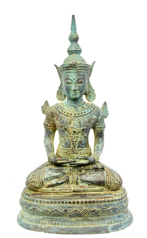 Seated Dhyana Buddha Bronze Statue Handmade Lost Wax Cast sculpture