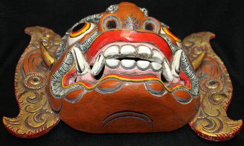 Balinese Mask Raksasa Demon Topeng - Acadia World Traders