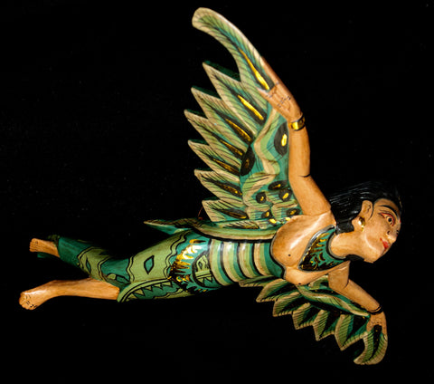 Flying Dewi Sri Goddess Crib Guardian Mobile - Acadia World Traders