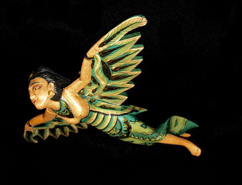 Flying Dewi Sri Goddess Crib Guardian Mobile