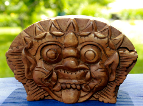 Barong Boma Secret Puzzle Box Trinket