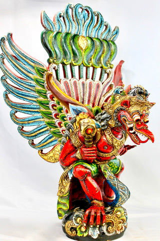 Garuda Statue Mount of Vishnu Balinese Hindu Art Sculpture