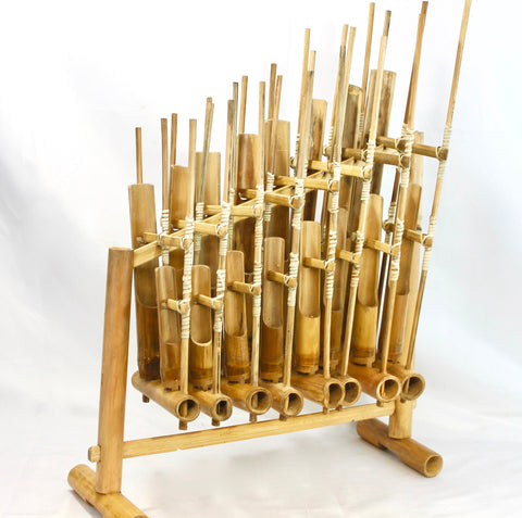 BAMBOO ANGKLUNG Rindik Gamelan Musical Instrument Bali - Acadia World Traders