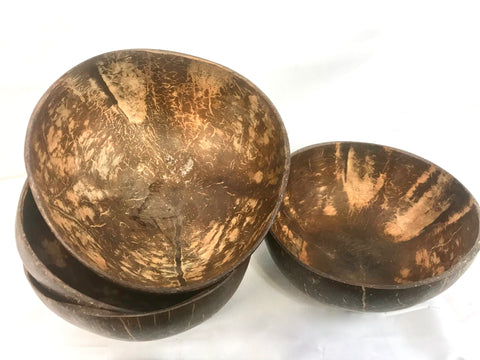 Coconut shell bowl organic recycled eco friendly tableware - Acadia World Traders