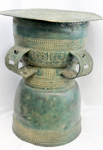 Balinese Rain Drum Bronze Bali Hindu art Lost Wax