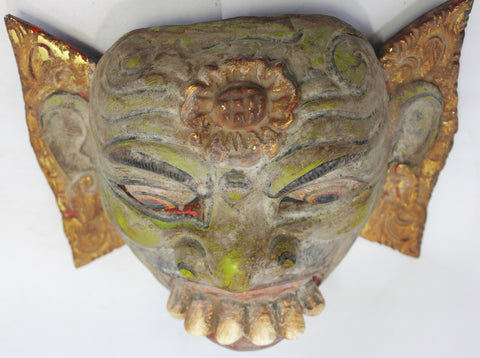 Balinese Rakshasa Demon Dance Mask - Acadia World Traders