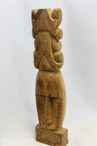 Antique Timorese Ancestor Mask Totem Figure