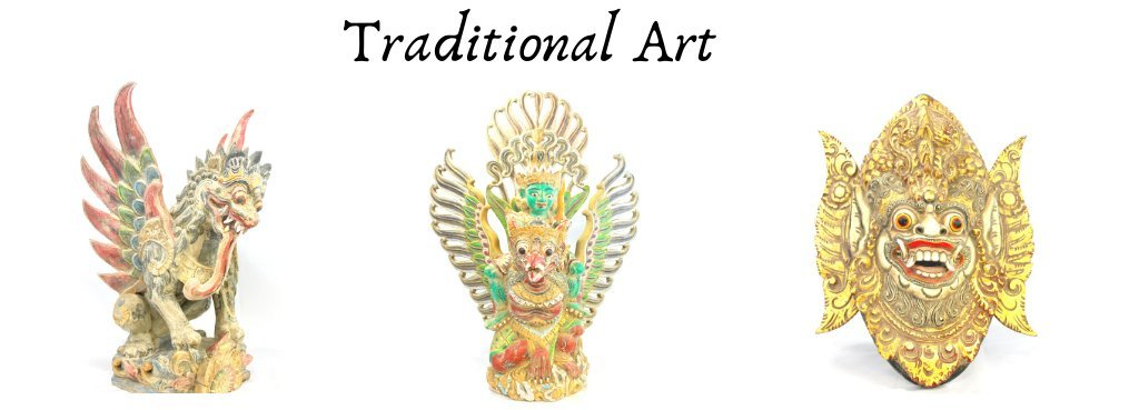 Balinese temple art & traditional art