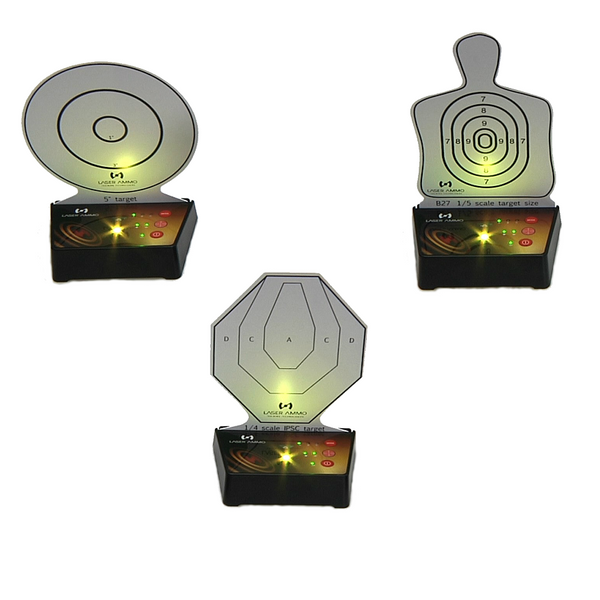 INTERACTIVE MULTI TARGET TRAINING SYSTEM - 3 PACK