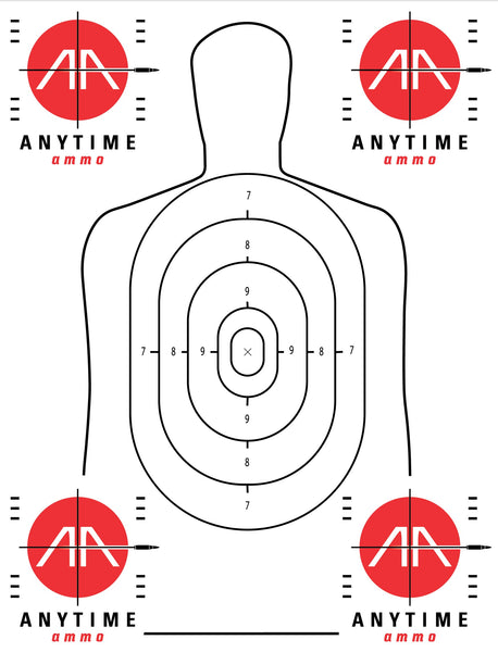 Anytimeammo B27 reflective target