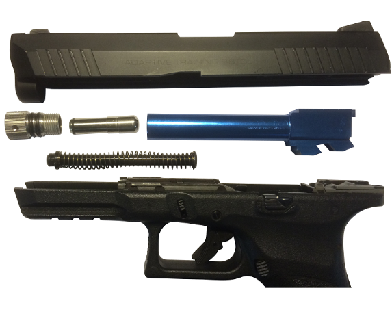 KWA ATP LE RECOIL ENABLED AIRSOFT LASER (R.E.A.L) CONVERSION KIT FOR KWA ATP LE with IR laser