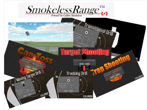 Smokeless Range ® -Judgmental and Marksmanship Shooting Simulator