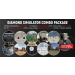 DIAMOND SMOKELESS RANGE ® SIMULATOR COMBO PACKAGE with short throw camera