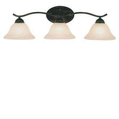 Andenne 3-Light Oil Rubbed Bronze Bath Vanity