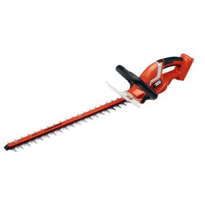 24 in. 40-Volt Lithium-ion Electric Cordless Hedge Trimmer