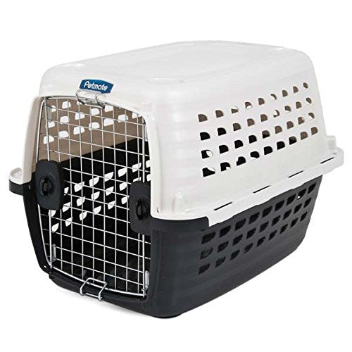 Petmate Compass Plastic Pets Kennel with Chrome Door