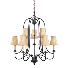World Imports Hastings 9 Light Chandelier