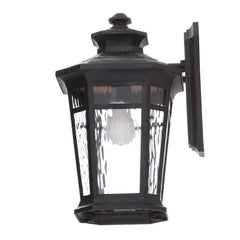 Home Decorators Collection Waterton 1-Light Dark Ridge Bronze Outdoor Wall Mount Lantern