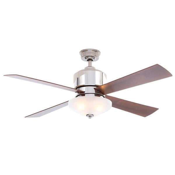 Alida 52 in. Liquid Nickel Ceiling Fan