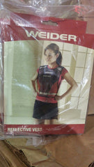 15 PACK Weider Reflective Safety Vest for Jogging, Biking, sports teams