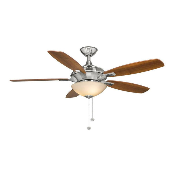Springview 52 in. Brushed Nickel Ceiling Fan