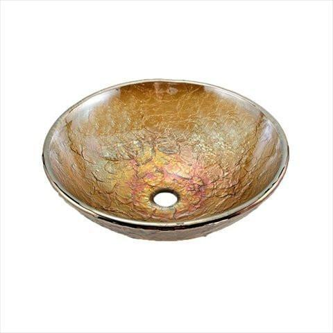 "16"" Vessel Sink Finish: Green Reflections"