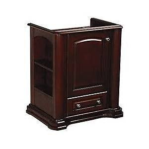Danze Cirtangular-Knightsbridge 30 in. Freestanding Vanity WITH TOP AND MIRROR (SEE ALL PICS)
