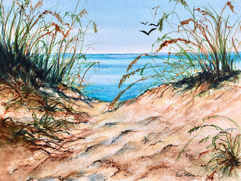 Bev Morgan - Over the Dunes
