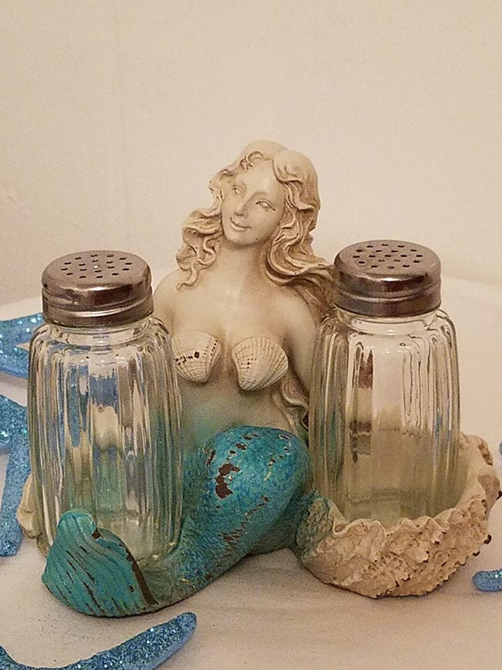 MERMAID SALT & PEPPER SET