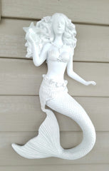 LARGE LIGHTED MERMAID * WALL DECOR!
