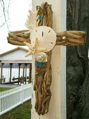 DRIFTWOOD CROSS * PLAIN Ready to Decorate!