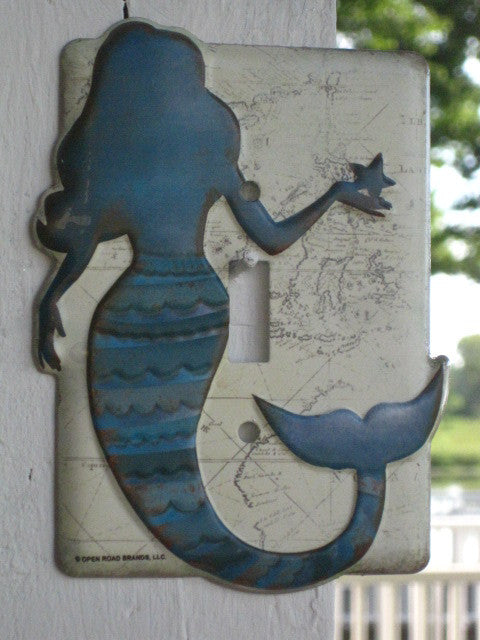 MERMAID Light Switch Cover! * NICE! *  Silhouette Style *