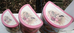 3 Pc EASTER NESTING TINS * STEINER CANDIES