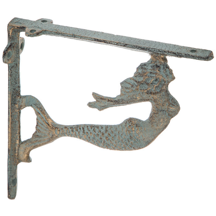 Free Flowing Mermaid Metal Bracket