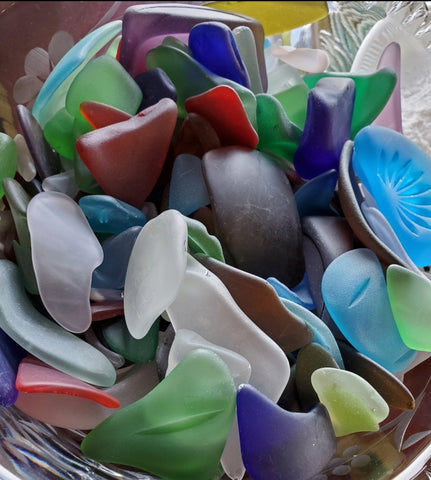 BEAUTIFUL SEA GLASS VARIETY! Various Colors, Shapes and Sizes.
