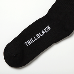 503 CREW SOCKS - BLACK