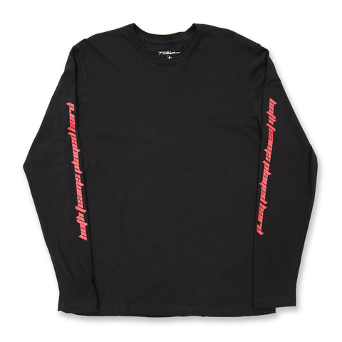 WEST HILLS L/S TEE - BRED