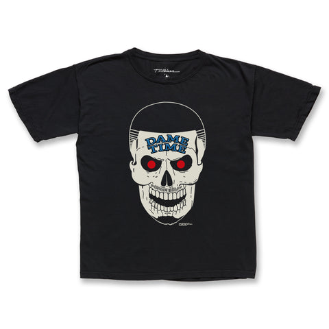 THE BOTTOM LINE TEE - VINTAGE BLACK