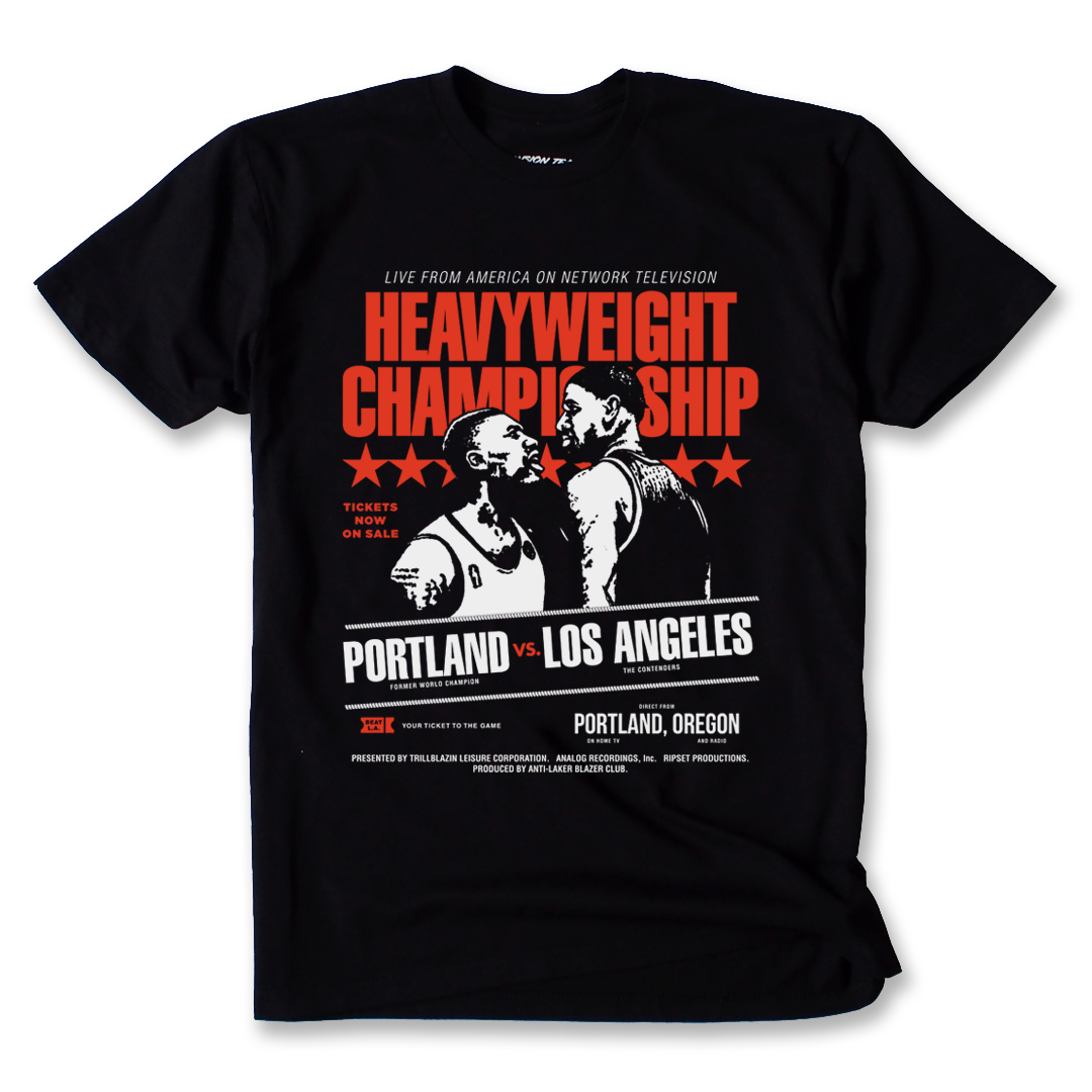 THE HEAVYWEIGHT TEE - GAME ONE BLACK