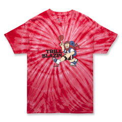 HIKE TRILL TEE - BIG RED TIE DYE